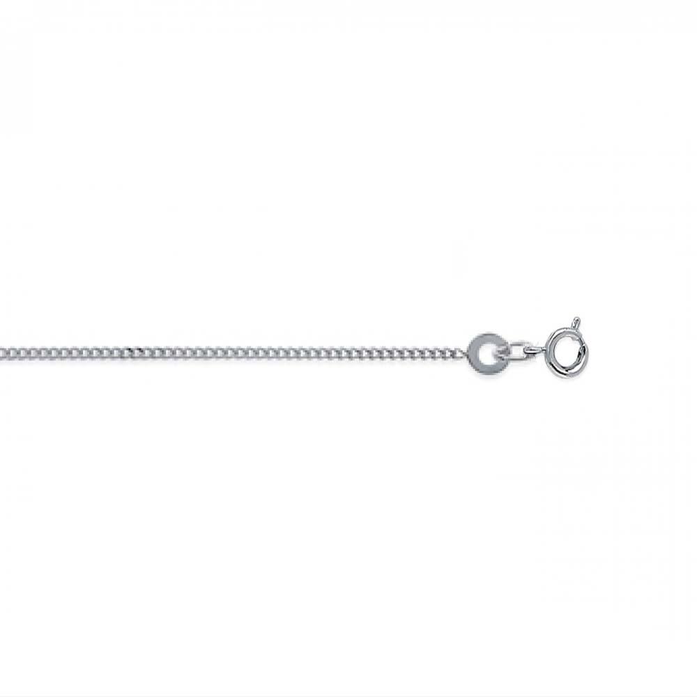 eurosilver - Chaine Argent Gourmette 1,22mm
