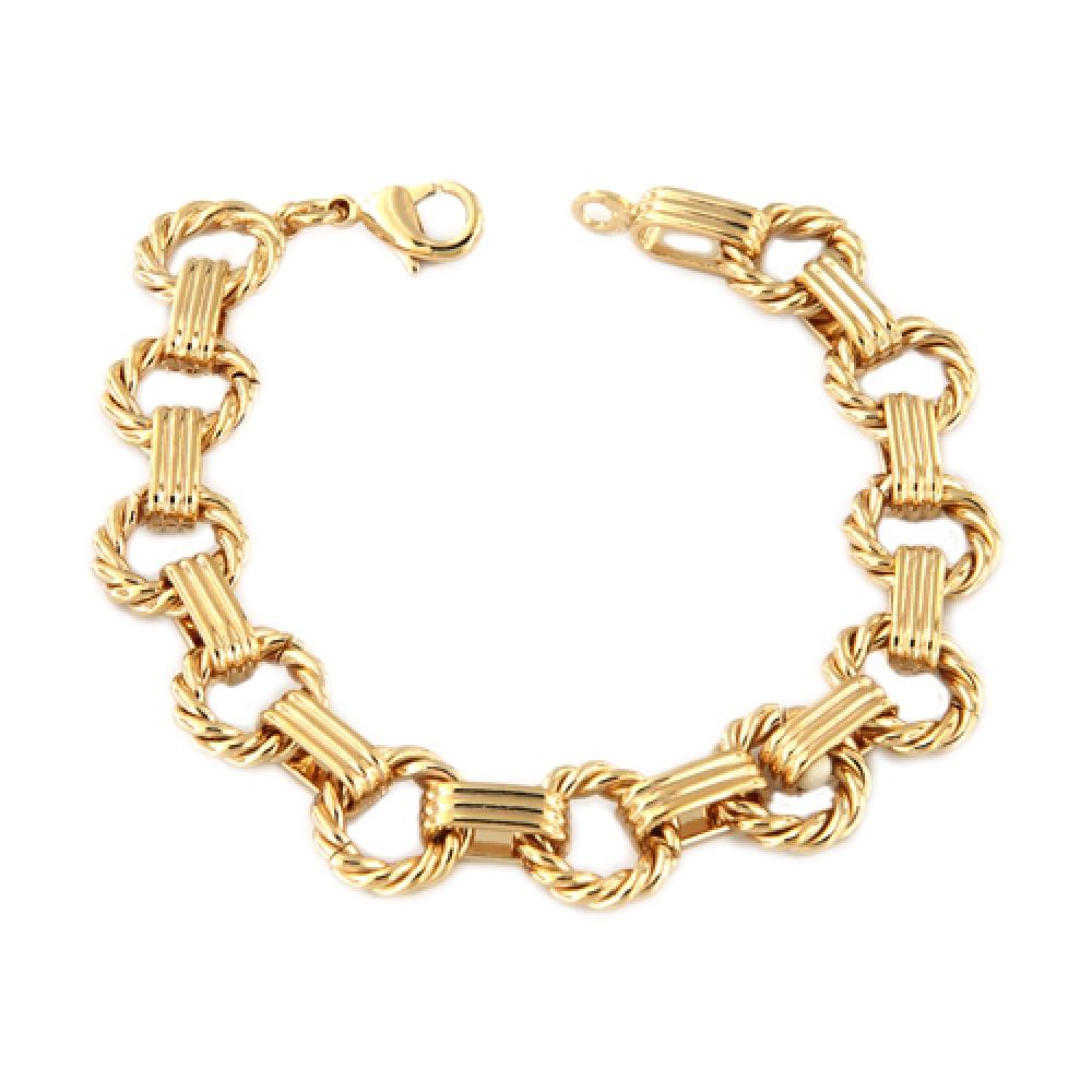 eurosilver - Bracelet Plaqué Or