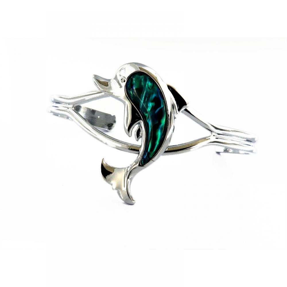 eurosilver - Bracelet ABL Dauphin Jonc
