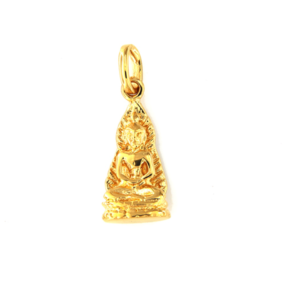 eurosilver - Pendentif Bouddha Plaqué Or