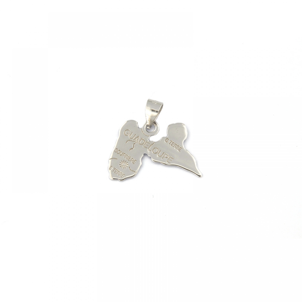 eurosilver - Pendentif Argent Guadeloupe