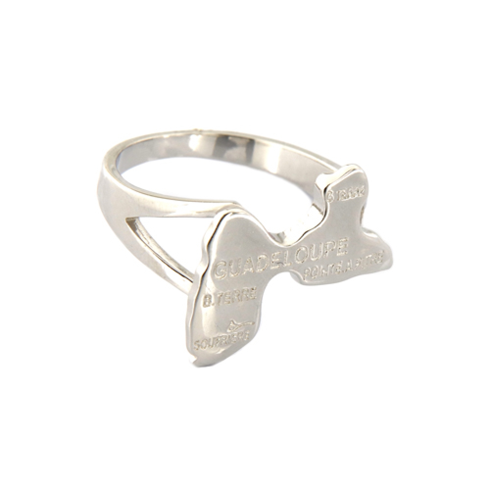 eurosilver - Bague Argent Guadeloupe