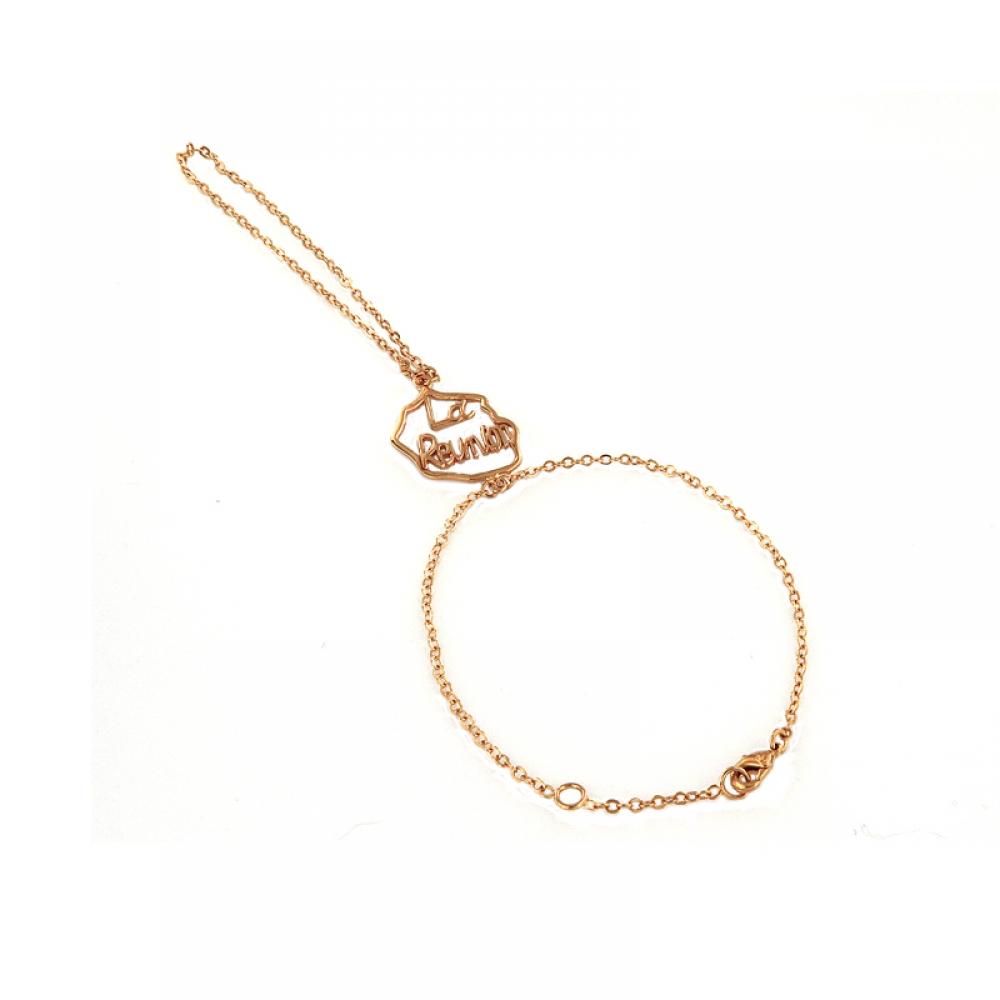 eurosilver - La Réunion Ajouré Bracelet Bague