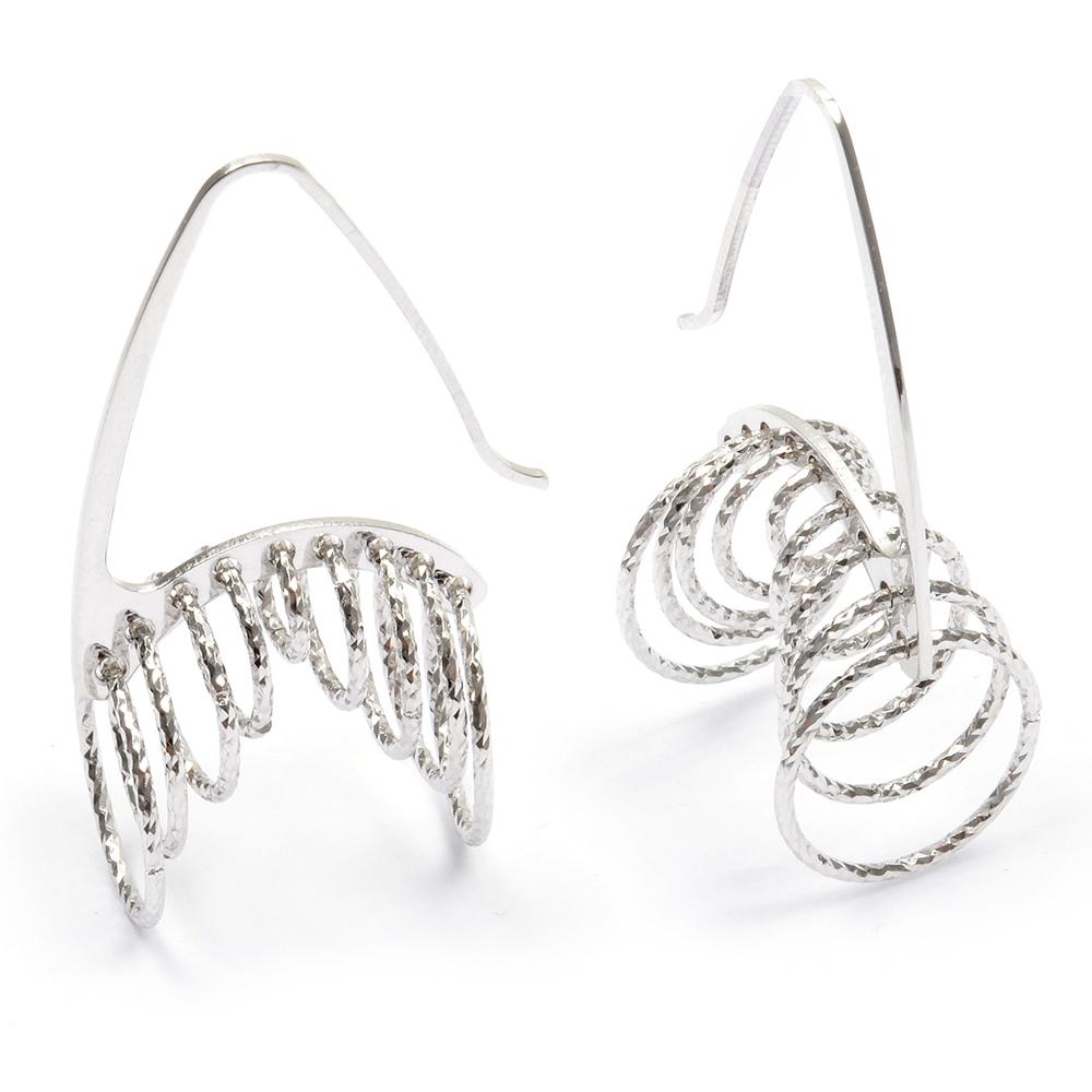 eurosilver - Boucles d'oreilles diamantée