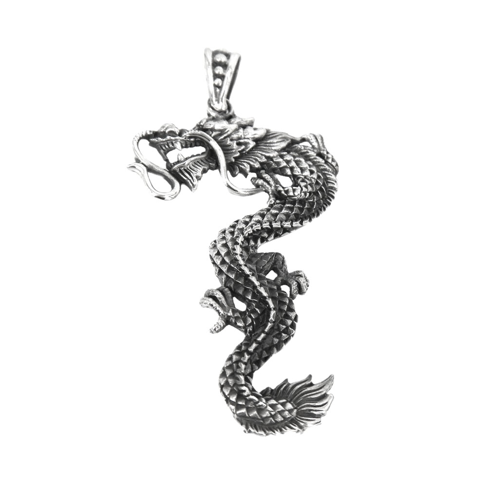 eurosilver - Pendentif argent dragon
