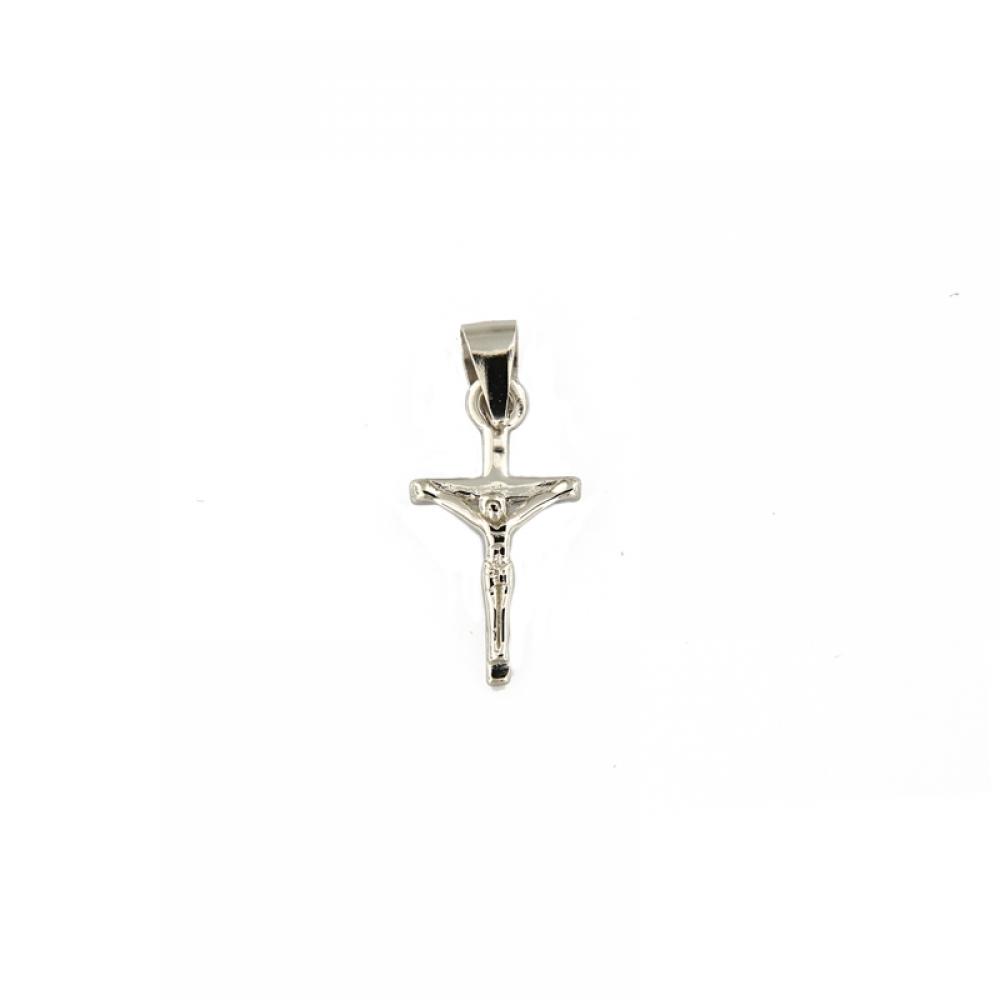 eurosilver - Pendentif Croix avec Christ Argent
